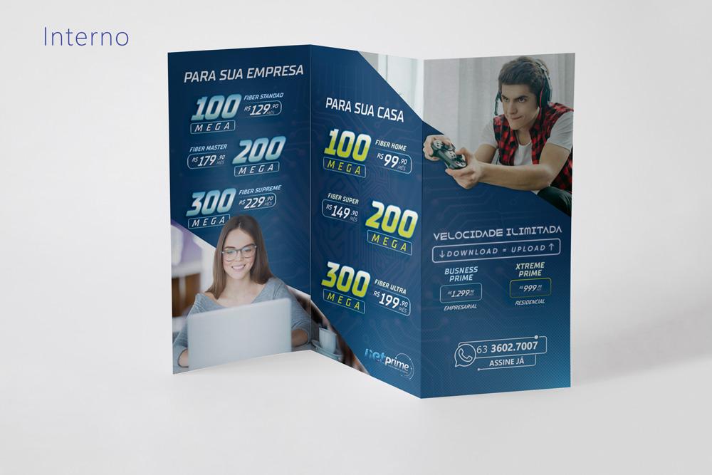 criacao-flyer-Panfleto-folder-para-provedor-de-internet-telecom-netprime