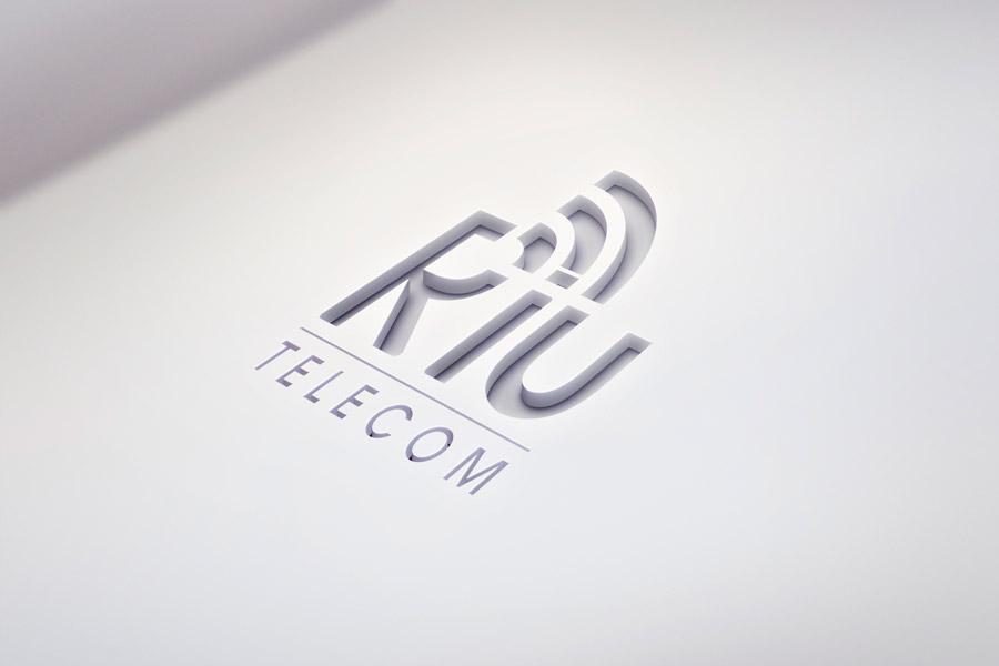 criacao-marca-identidade-visual-marketing-riu-telecom-provedor-de-internet-cutout-Logo-Mock-Up