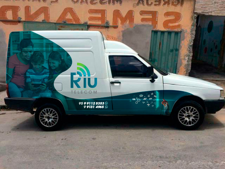 criacao-marca-identidade-visual-marketing-riu-telecom-provedor-de-internet-lateral-fiorino