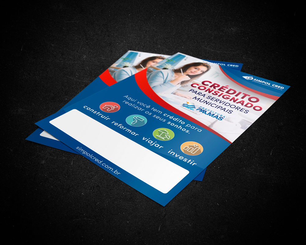 panfleto-marketing-emprestimo-consignado-servidor-municipal-simpolcred