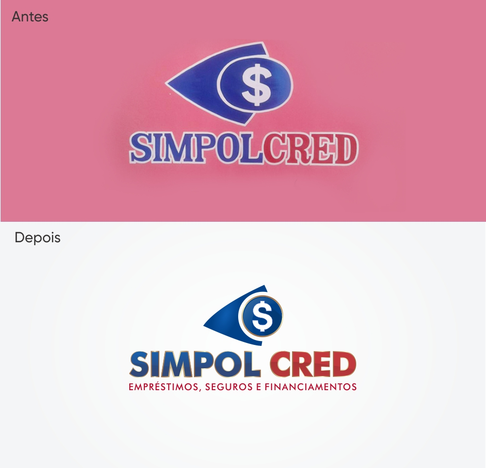 redesign logo simpolcred