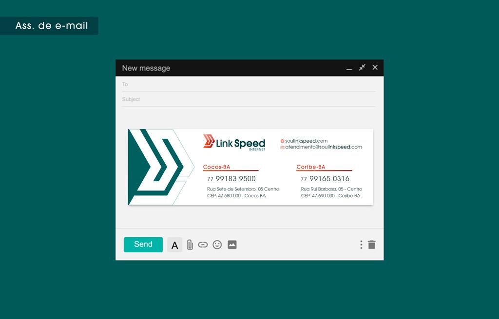 criacao-assinatura-de-email-identidade-visual-marketing-provedor-de-internet-link-speed